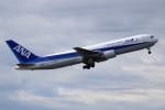 NANASE UNITED®さんが、成田国際空港で撮影した全日空 767-381/ERの航空フォト(飛行機 写真・画像)