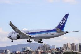 kikiさんが、台北松山空港で撮影した全日空 787-8 Dreamlinerの航空フォト(飛行機 写真・画像)