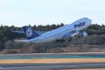 空旅さんが、成田国際空港で撮影したポーラーエアカーゴ 747-46NF/SCDの航空フォト(飛行機 写真・画像)