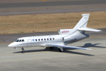 yabyanさんが、中部国際空港で撮影したプライベートエア Falcon 50の航空フォト(飛行機 写真・画像)