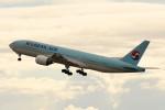 kuro2059さんが、中部国際空港で撮影した大韓航空 777-2B5/ERの航空フォト(飛行機 写真・画像)
