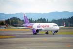 ちゃぽんさんが、鹿児島空港で撮影した香港エクスプレス A320-271Nの航空フォト(飛行機 写真・画像)