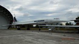 るかりおさんが、トゥールーズ・ブラニャック空港で撮影したエールフランス航空 Concorde 101の航空フォト(飛行機 写真・画像)