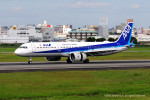 Takehiro-2018さんが、伊丹空港で撮影した全日空 A321-272Nの航空フォト(飛行機 写真・画像)