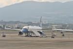 B747‐400さんが、伊丹空港で撮影したアメリカ空軍 757-2Q8の航空フォト(飛行機 写真・画像)