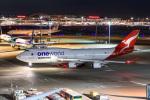 kuraykiさんが、羽田空港で撮影したカンタス航空 747-438/ERの航空フォト(飛行機 写真・画像)