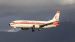 aki241012さんが、福岡空港で撮影した日本トランスオーシャン航空 737-446の航空フォト(飛行機 写真・画像)