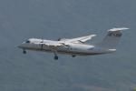 miffyさんが、広島空港で撮影した国土交通省 航空局 DHC-8-315Q Dash 8の航空フォト(飛行機 写真・画像)