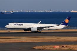やつはしさんが、羽田空港で撮影したルフトハンザドイツ航空 A350-941の航空フォト(飛行機 写真・画像)