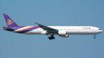 coolinsjpさんが、台湾桃園国際空港で撮影したタイ国際航空 777-3D7の航空フォト(飛行機 写真・画像)
