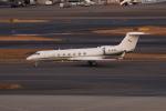 やつはしさんが、羽田空港で撮影した金鹿航空 G500/G550 (G-V)の航空フォト(飛行機 写真・画像)