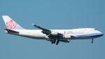 coolinsjpさんが、台湾桃園国際空港で撮影したチャイナエアライン 747-409F/SCDの航空フォト(飛行機 写真・画像)
