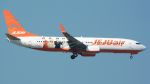 coolinsjpさんが、台湾桃園国際空港で撮影したチェジュ航空 737-8ASの航空フォト(飛行機 写真・画像)