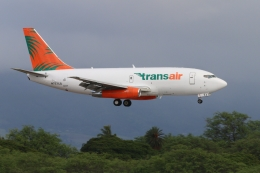キャスバルさんが、ダニエル・K・イノウエ国際空港で撮影したトランスエア 737-2T4C/Advの航空フォト(飛行機 写真・画像)