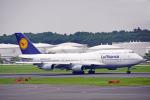 ちゃぽんさんが、成田国際空港で撮影したルフトハンザドイツ航空 747-430の航空フォト(飛行機 写真・画像)