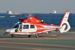 航空フォト:JA98YH 横浜市消防航空隊 SA365/AS365/565 Dauphin 2