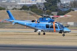 ブルーさんさんが、名古屋飛行場で撮影した神奈川県警察 AW109SPの航空フォト(飛行機 写真・画像)