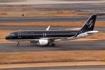やつはしさんが、羽田空港で撮影したスターフライヤー A320-214の航空フォト(飛行機 写真・画像)