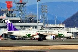 くれないさんが、高松空港で撮影した香港エクスプレス A320-232の航空フォト(飛行機 写真・画像)