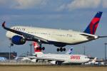 パンダさんが、成田国際空港で撮影したデルタ航空 A350-941XWBの航空フォト(飛行機 写真・画像)