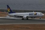 endress voyageさんが、神戸空港で撮影したスカイマーク 737-8Q8の航空フォト(飛行機 写真・画像)