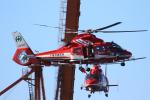 せぷてんばーさんが、千葉市消防出初式会場付近で撮影した千葉市消防航空隊 AS365N3 Dauphin 2の航空フォト(飛行機 写真・画像)