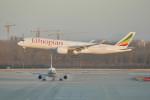 KKiSMさんが、北京首都国際空港で撮影したエチオピア航空 A350-941XWBの航空フォト(飛行機 写真・画像)
