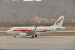 KKiSMさんが、ラサ・クンガ空港で撮影したチベット航空 A319-115の航空フォト(飛行機 写真・画像)