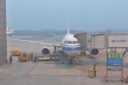 KKiSMさんが、成都双流国際空港で撮影した中国国際航空 A319-115の航空フォト(飛行機 写真・画像)
