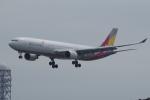 TG36Aさんが、羽田空港で撮影したアシアナ航空 A330-323Xの航空フォト(飛行機 写真・画像)