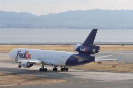 lonely-wolfさんが、関西国際空港で撮影したフェデックス・エクスプレス MD-11Fの航空フォト(飛行機 写真・画像)