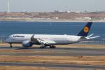 ANA744Foreverさんが、羽田空港で撮影したルフトハンザドイツ航空 A350-941XWBの航空フォト(飛行機 写真・画像)