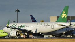 パンダさんが、成田国際空港で撮影した春秋航空 A320-251Nの航空フォト(飛行機 写真・画像)