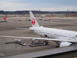 hirohirokinさんが、成田国際空港で撮影した日本航空 777-346/ERの航空フォト(飛行機 写真・画像)