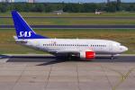 PASSENGERさんが、ベルリン・テーゲル空港で撮影したスカンジナビア航空 737-683の航空フォト(飛行機 写真・画像)