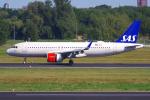 PASSENGERさんが、ベルリン・テーゲル空港で撮影したスカンジナビア航空 A320-251Nの航空フォト(飛行機 写真・画像)