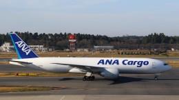westtowerさんが、成田国際空港で撮影した全日空 777-F81の航空フォト(飛行機 写真・画像)