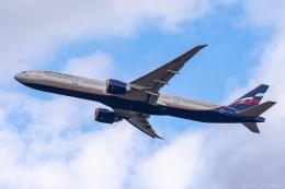ぱん_くまさんが、成田国際空港で撮影したアエロフロート・ロシア航空 777-3M0/ERの航空フォト(飛行機 写真・画像)