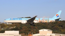 aki241012さんが、福岡空港で撮影した大韓航空 777-3B5/ERの航空フォト(飛行機 写真・画像)