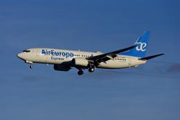 Frankspotterさんが、フランクフルト国際空港で撮影したエア・ヨーロッパ・エクスプレス 737-85Pの航空フォト(飛行機 写真・画像)