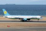 yabyanさんが、中部国際空港で撮影したウズベキスタン航空 757-231の航空フォト(飛行機 写真・画像)