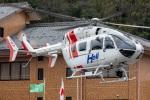 まんぼ しりうすさんが、坂祝で撮影したセントラルヘリコプターサービス BK117C-2の航空フォト(飛行機 写真・画像)