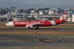 もぐ3さんが、福岡空港で撮影したエアアジア・エックス A330-343Eの航空フォト(飛行機 写真・画像)