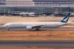 やつはしさんが、羽田空港で撮影したキャセイパシフィック航空 777-367の航空フォト(飛行機 写真・画像)