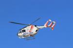 ゆなりあさんが、名古屋飛行場で撮影したセントラルヘリコプターサービス BK117C-2の航空フォト(飛行機 写真・画像)
