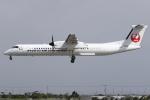 kinsanさんが、宮古空港で撮影した琉球エアーコミューター DHC-8-402Q Dash 8 Combiの航空フォト(飛行機 写真・画像)