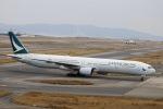kikiさんが、関西国際空港で撮影したキャセイパシフィック航空 777-367の航空フォト(飛行機 写真・画像)
