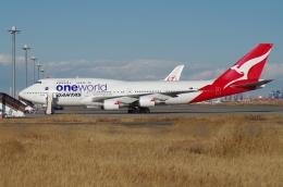 tasho0525さんが、羽田空港で撮影したカンタス航空 747-438/ERの航空フォト(飛行機 写真・画像)