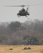 チャーリーマイクさんが、習志野演習場で撮影した陸上自衛隊 UH-1Jの航空フォト(飛行機 写真・画像)