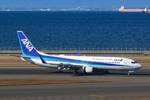 Mochi7D2さんが、中部国際空港で撮影した全日空 737-881の航空フォト(飛行機 写真・画像)